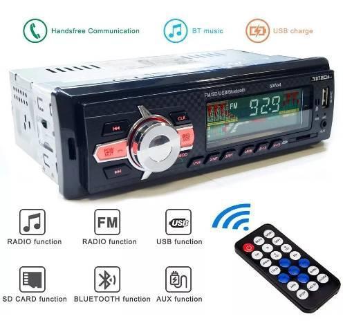 Rádio automotivo mp3 bluetooth r$ 120,00