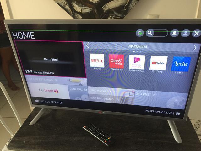 Smart tv lg 32 acesso a internet wifi