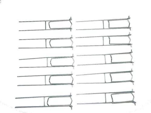 Suporte p/ vara de pesca dobrável 10 peças !! fabricante.