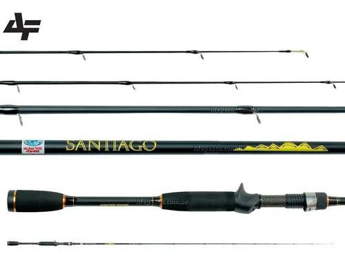 Vara para carretilha albatroz fishing santiago 6'3 (1,90m)
