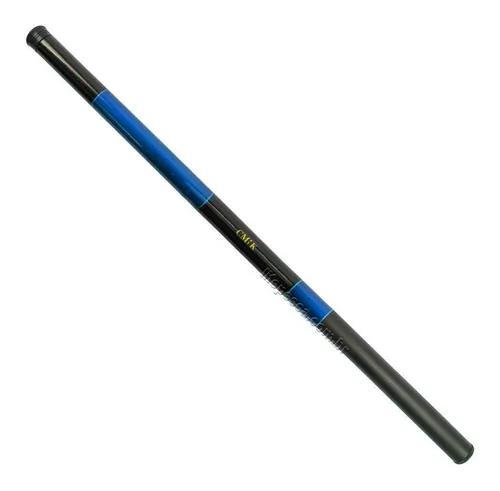 Vara telescópica cmik simples super leve (7,20m) 7-10lbs