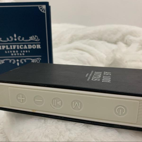 Amplificador bluetooth caixa de som imaginarium novo