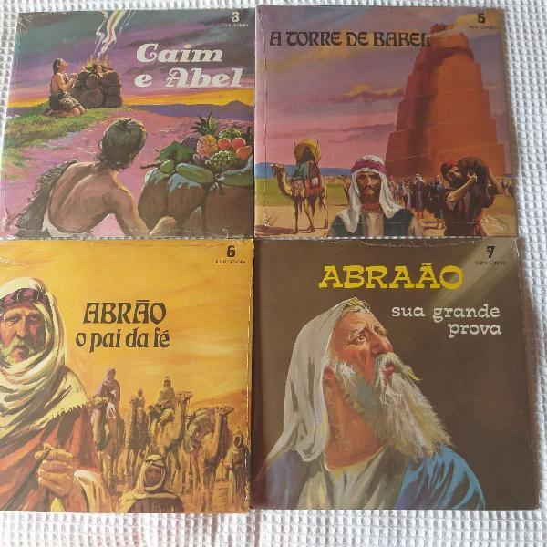 Bíblia sonora 10 compactos da coleção lacrados