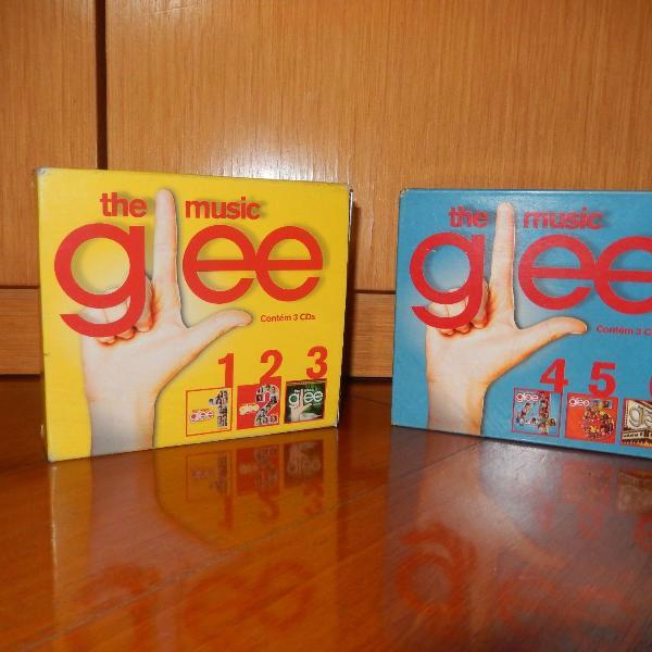 Box cds série glee número 1 e 2