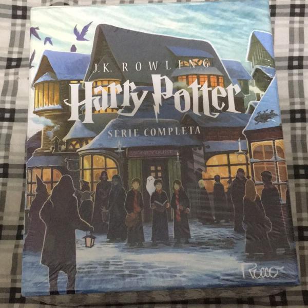 Box harry potter série completa lacrada
