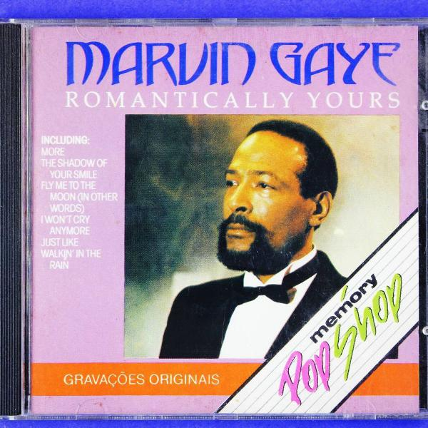 Cd . marvin gaye . romantically yours