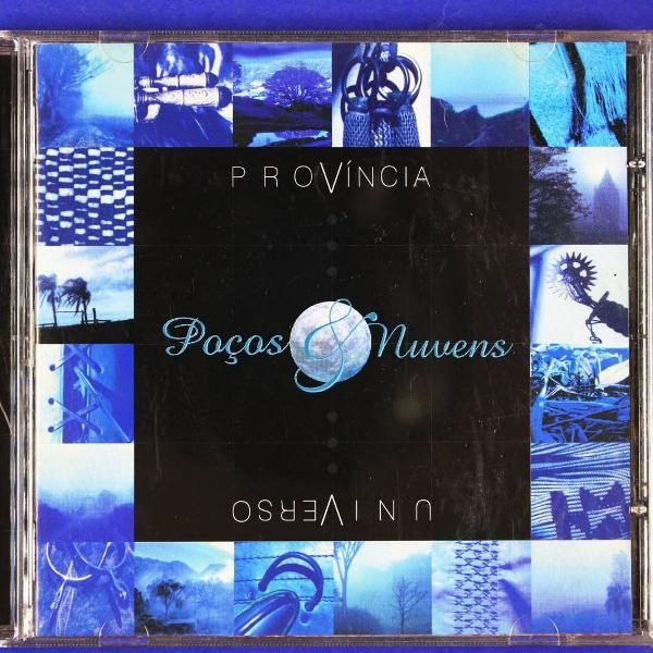 Cd . província universo . poços & nuvens 2001