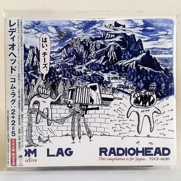 Cd radiohead com lag 2plus2isfive + video importado edição