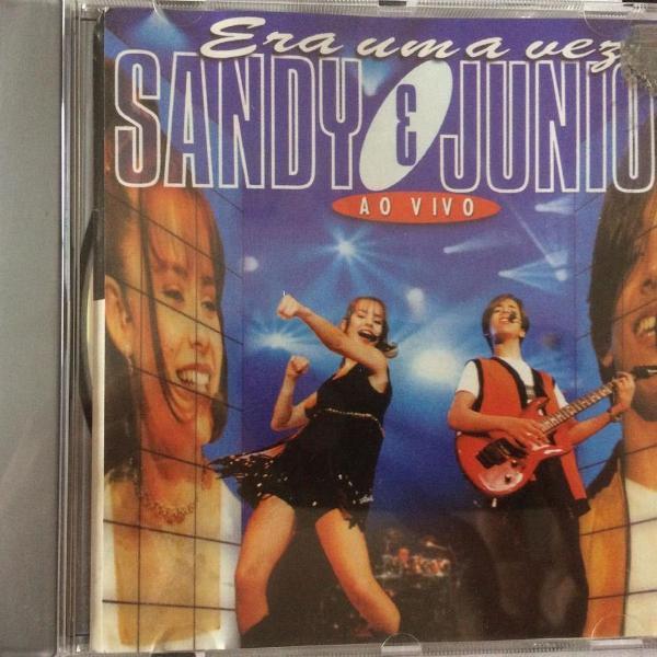 Cd sandy e junior - era uma vez - ao vivo