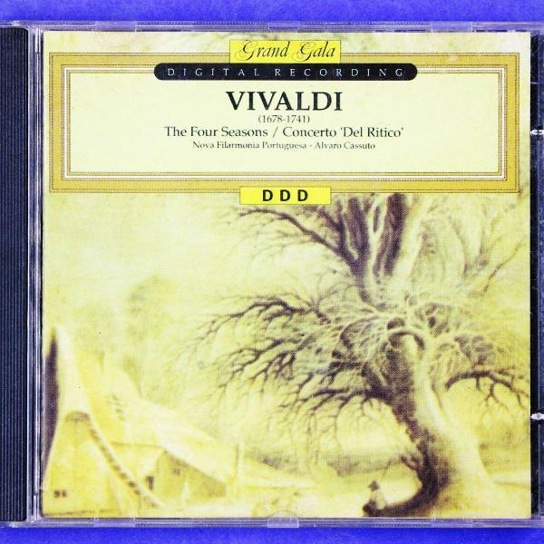 Cd . vivaldi . the four seasons . concerto del ritico . nova