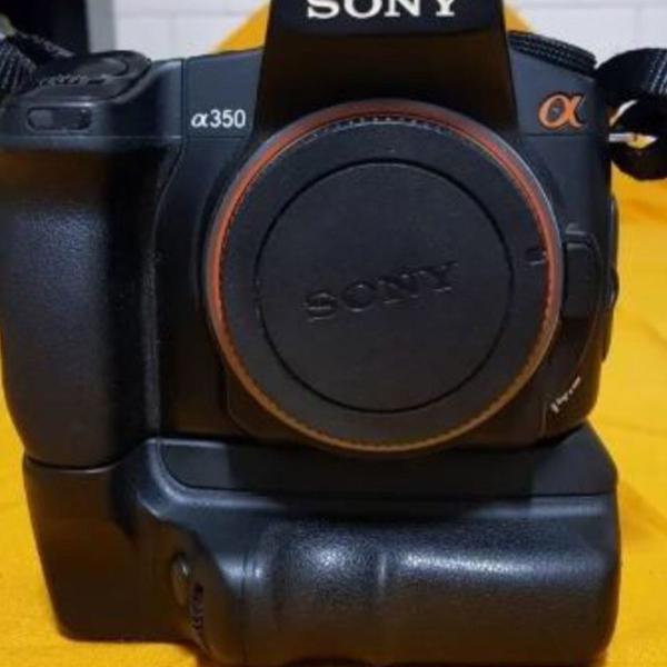 Câmera sony alfa a350