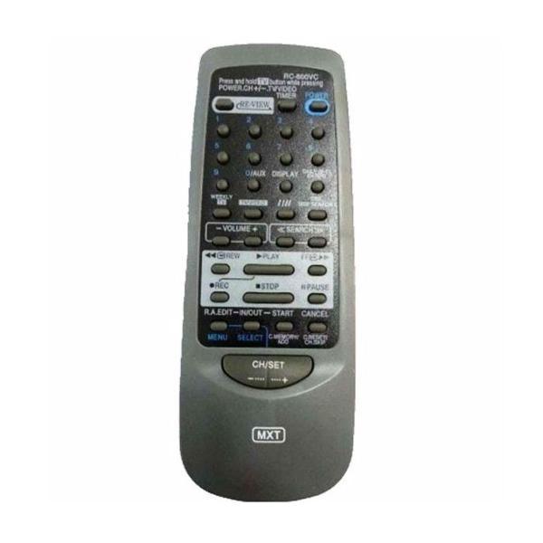 Controle remoto vcr jvc mke mk-e600vc