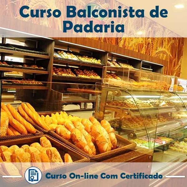 Curso online de balconista de padaria com certificado