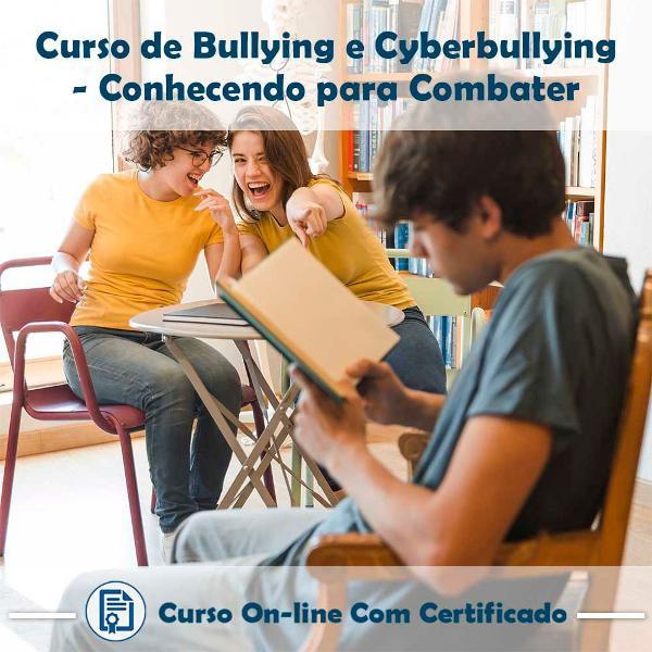 Curso online de bullying e cyberbullying: conhecendo para