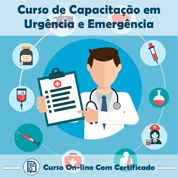 Curso online de capacitação em urgência e emergência com