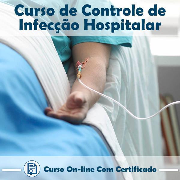 Curso online de controle de infecção hospitalar com