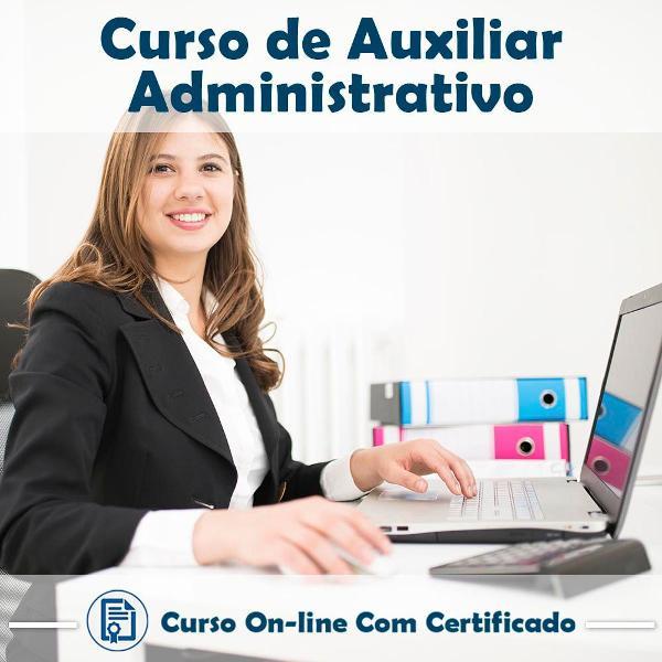 Curso online de curso de auxiliar administrativo com