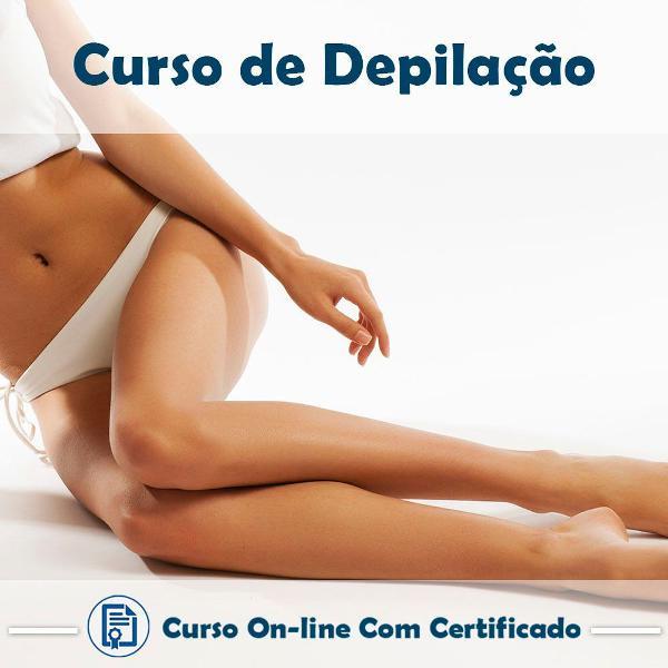 Curso online de depilação com certificado