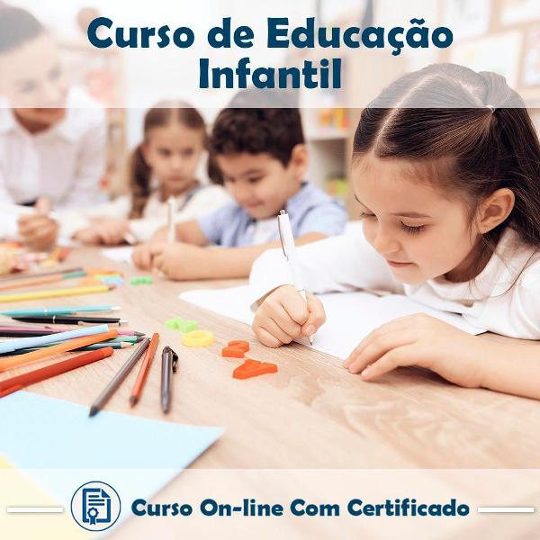 Curso online de educação infantil com certificado