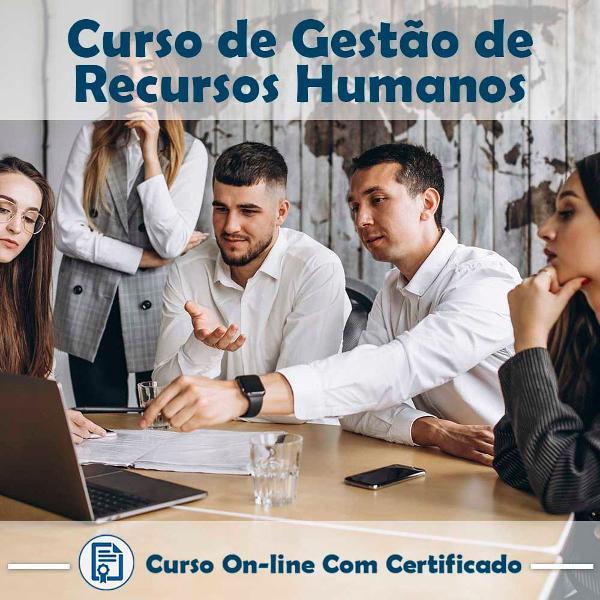 Curso online de gestão de recursos humanos com certificado