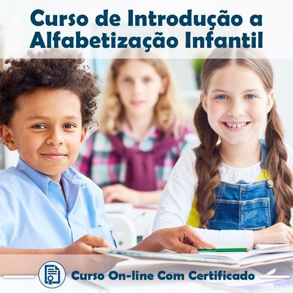 Curso online de introdução a alfabetização infantil com