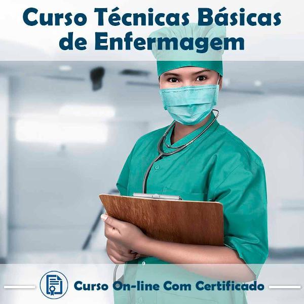 Curso online de técnicas básicas de enfermagem com