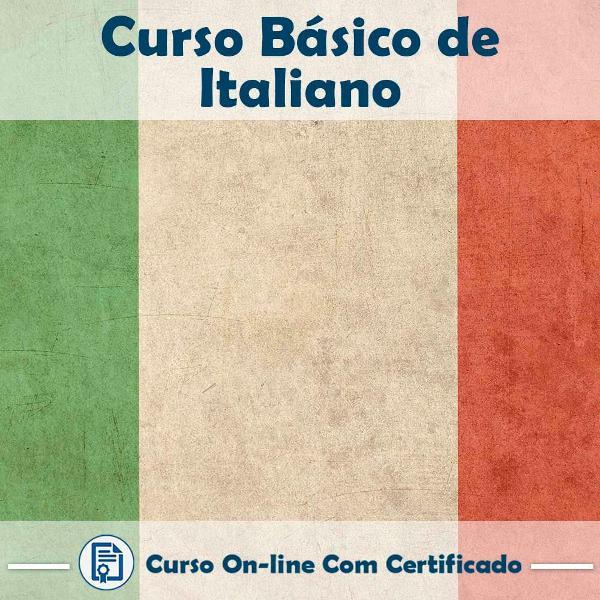 Curso online em videoaula básico de italiano com