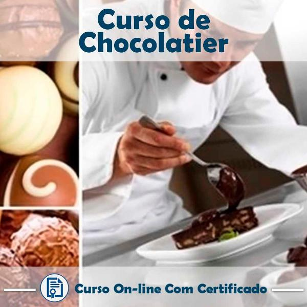 Curso online em videoaula de chocolatier com certificado