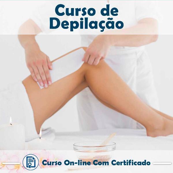 Curso online em videoaula de depilação com certificado