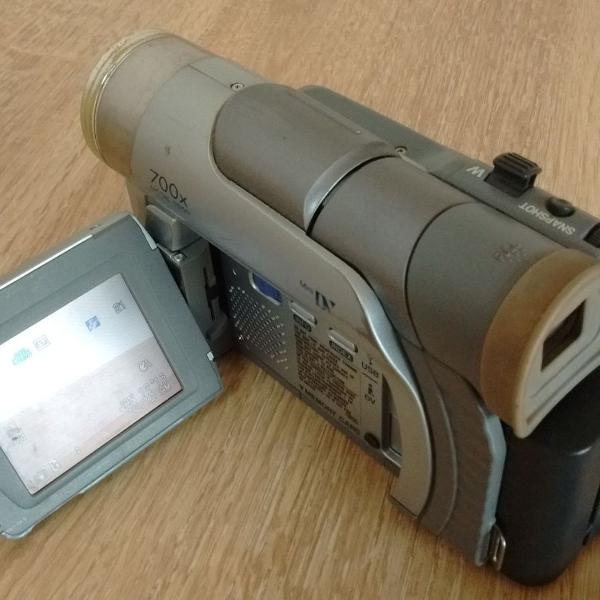 Filmadora jvc gr-d70 d70u mini digital video camcorder com
