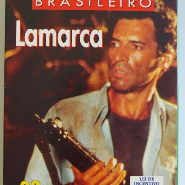 Fita vhs do filme brasileiro lamarca