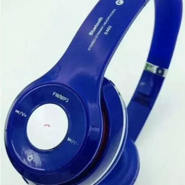 Fone stereo bluetooth com entrada para cartão de memória