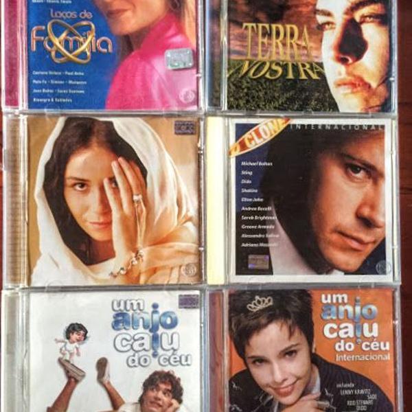 Kit 6 cds novelas para colecionador