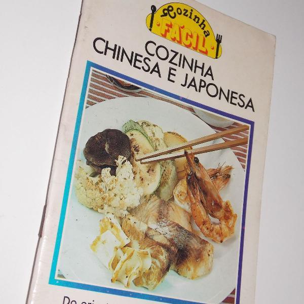 Livreto cozinha fácil cozinha chinesa e japonesa