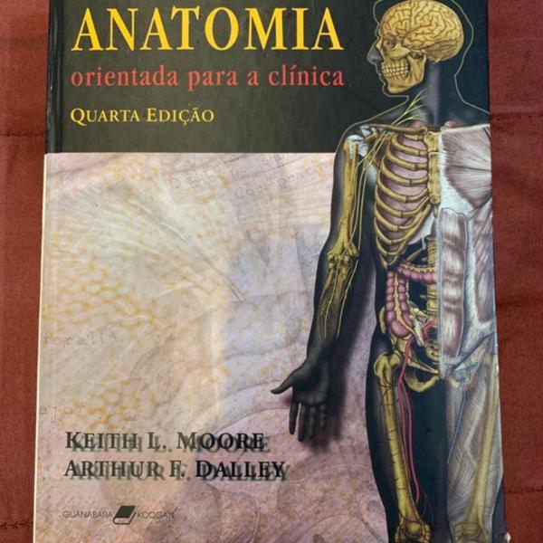 Livro anatomia orientada para clínica quarta edição