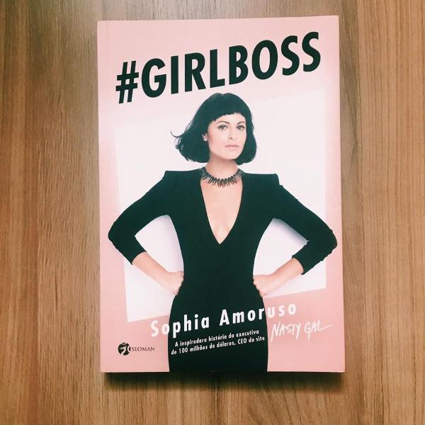 Livro #girlboss pra te fazer mais feliz