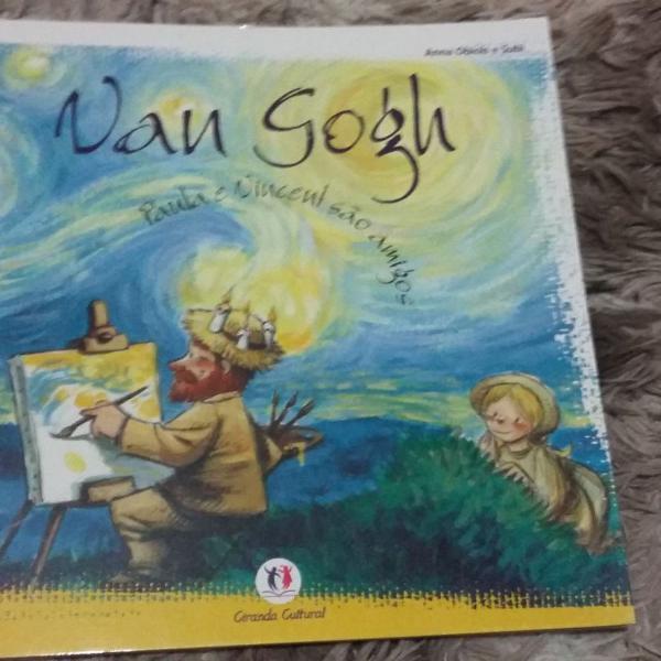 Livro infantil van gogh brasil cultural