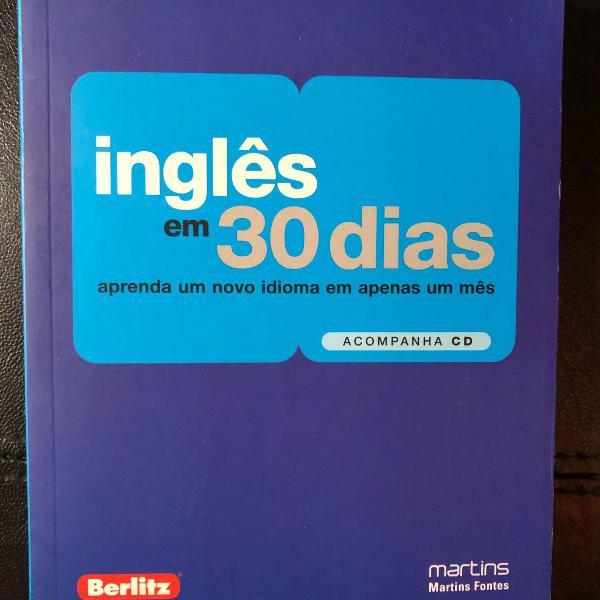 Livro inglês em 30 dias berlitz e martins fontes