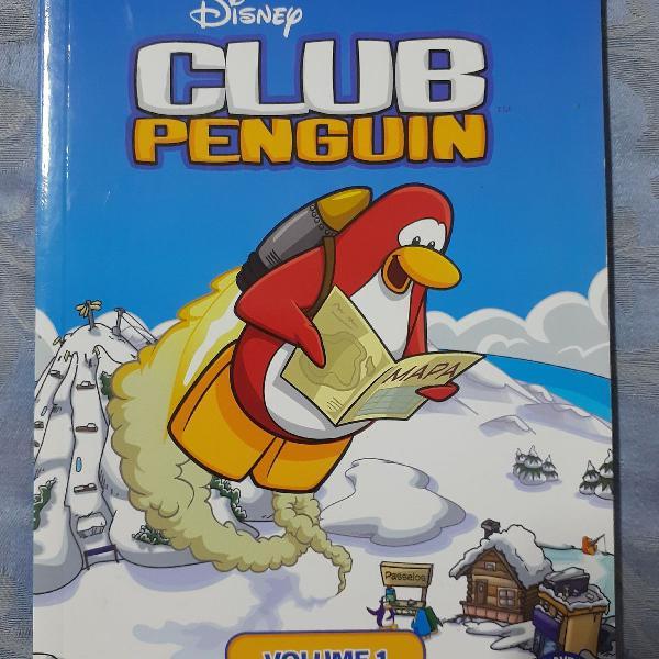 """Livro """"o guia oficial - club penguin"""""""