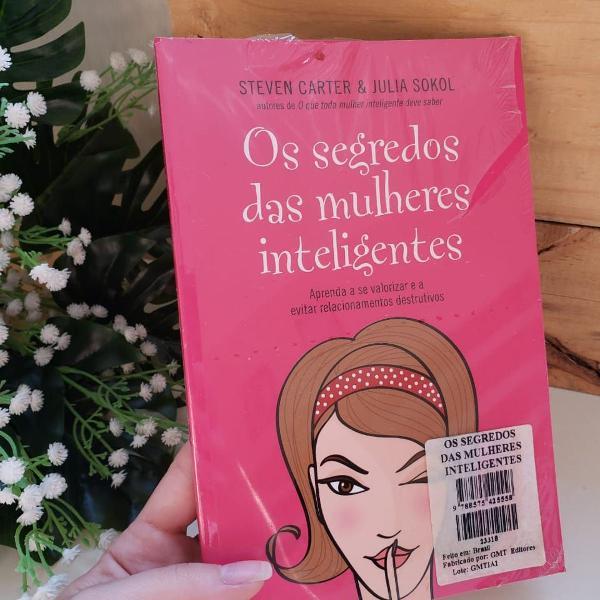 Livro os segredos das mulheres inteligentes