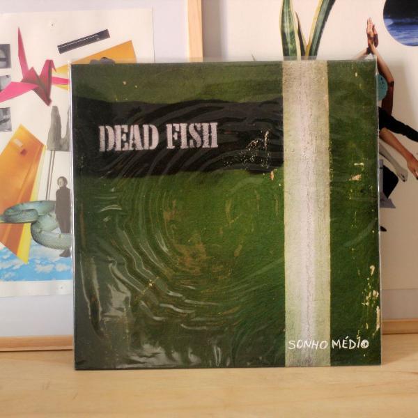 Lp dead fish - sonho médio (vinil verde) (novo)