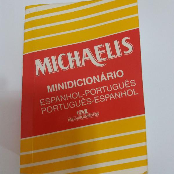 Mini dicionário espanhol português - português espanhol.