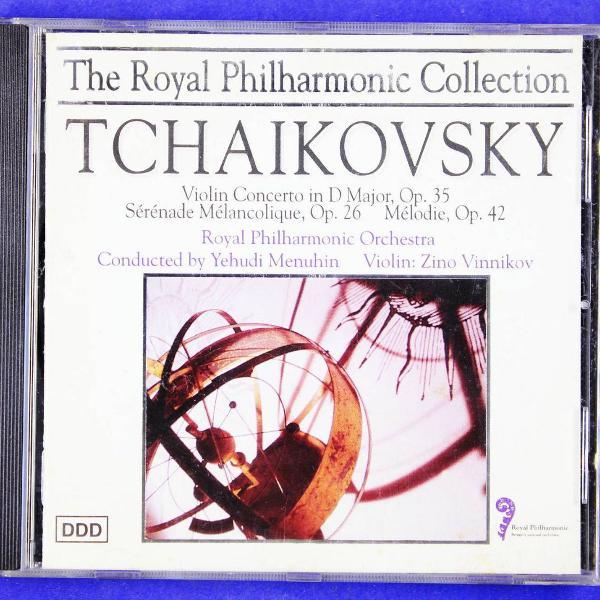 the royal philarmonic collection . tchaikovsky . violin