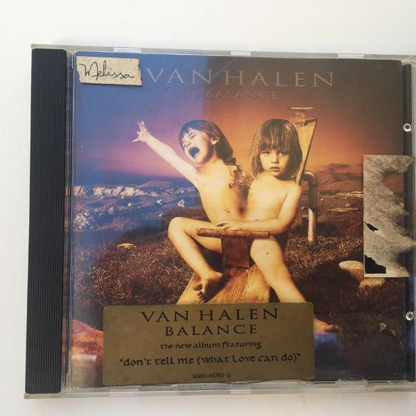 Van halen - balance cd
