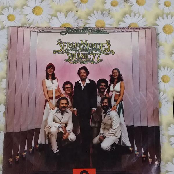 Vinil conservado sergio mendes and beasil 77