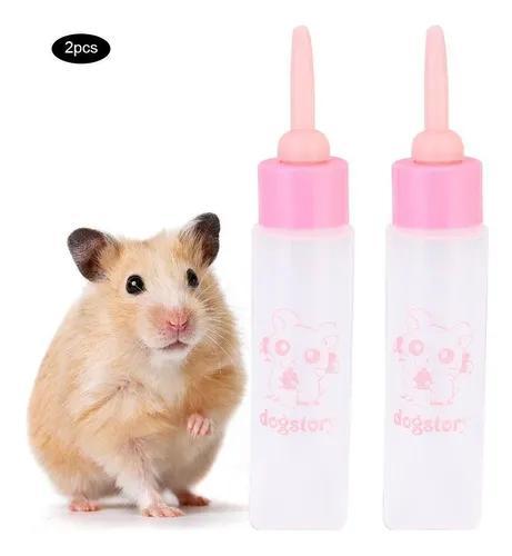 2pcs 30ml hamster nurser garrafa pequeno pet filhote de cach