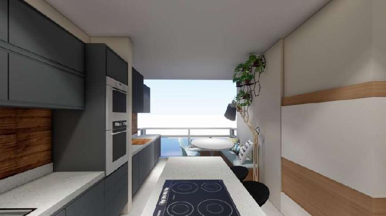 Apartamento novo de 2 dormitórios e 1 vaga na rua do metrô