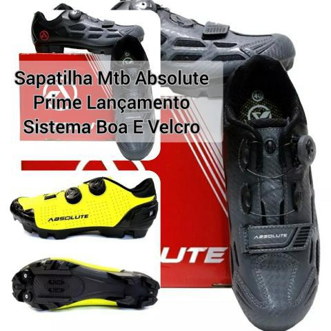 Bicicleta bike mtb sapatilha absolute prime boa