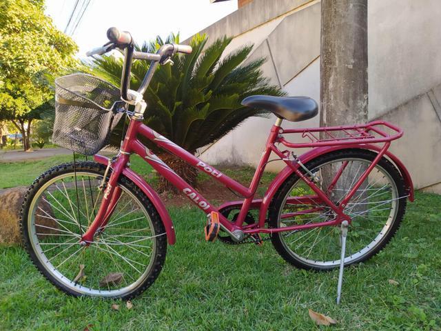 Bicicleta caloi poti aro 24
