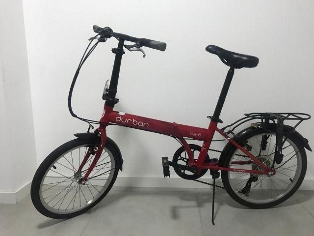 Bicicleta dobrável durban bay 6